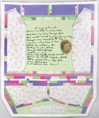 Matrilineal Praise Song: Conteporary Art Quilt by Betty Leacraft