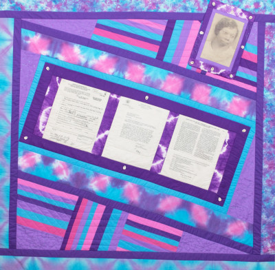 In the Family: Contemporary Art Quilt by Betty Leacraft